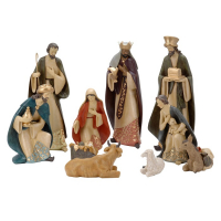 NATIVITY Bethlehem SET/10